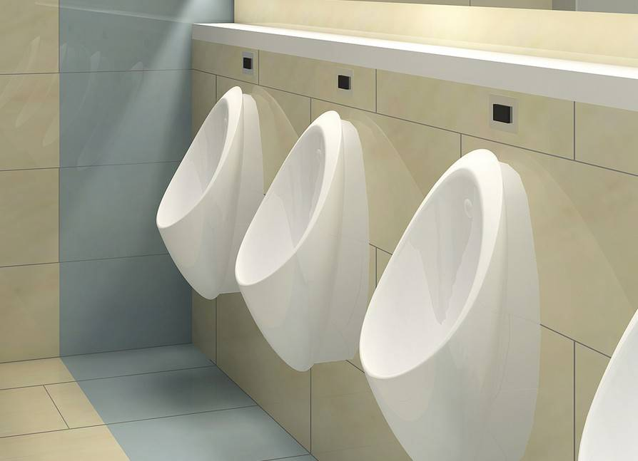 Bathroom supplies automatic wall mounted toilet