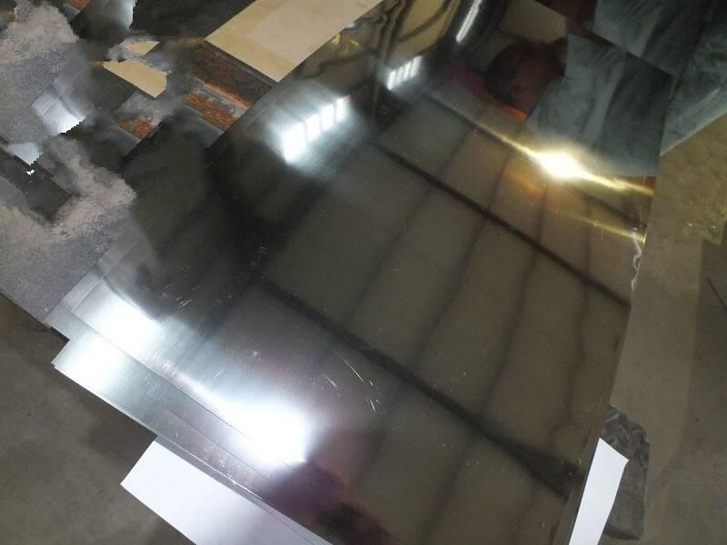 astm b265 Gr2 mirror surface cp titanium plate