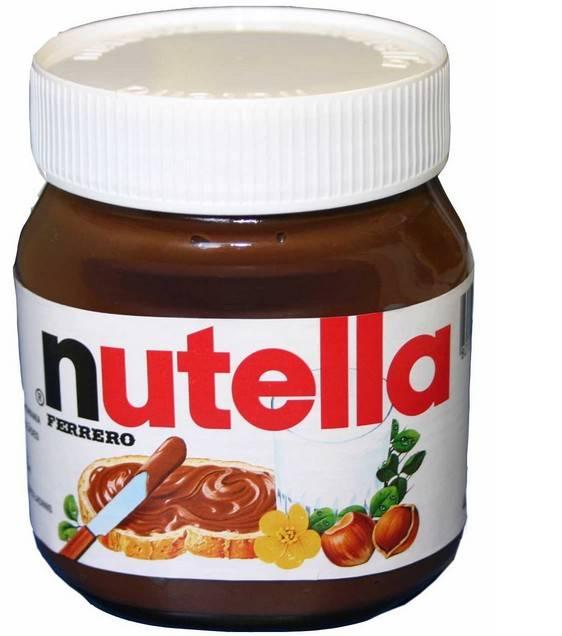 Nutella Ferrero chocolate, 400gr, 630gr, 825gr, 1000gr.
