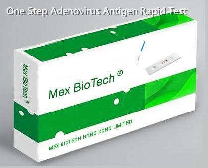 One Step Accurate Adenovirus Antigen Strip/Cassette/Uncut sheet