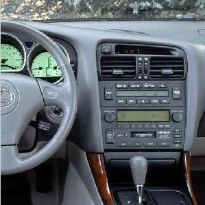 Lexus GS300 DVD (1998 To 2005) Radio Navigati MP3 With Tmc Wtih DVD-
