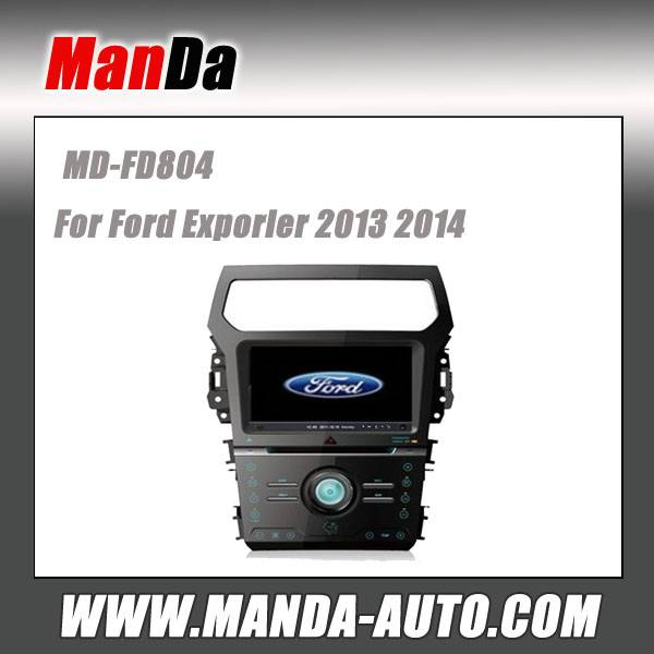 Manda 2 din car dvd for Ford explorer 2014 car dvd gps navigation in-dash head units multimedia