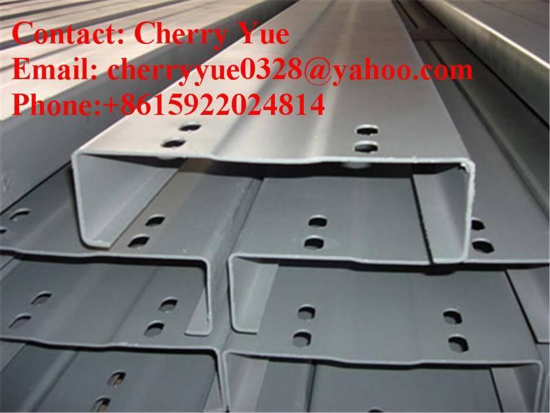C channel, C beam steel, C profile steel, C purlin