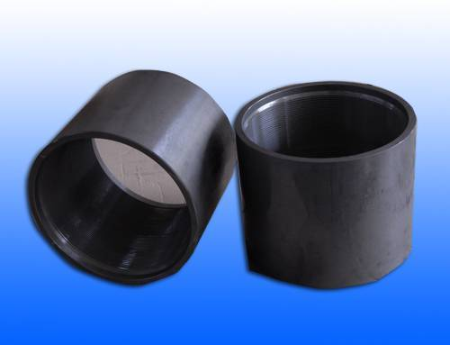 Seamless oil pipe coupling with API standard