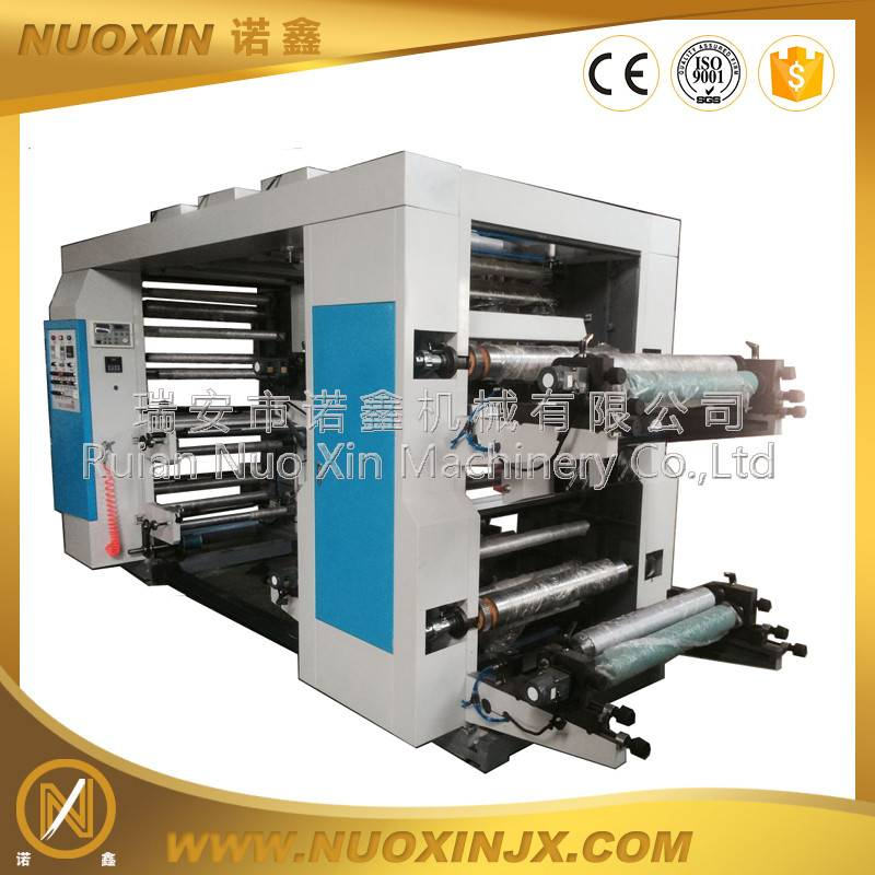 4 color Thermal paper flexo printing machine