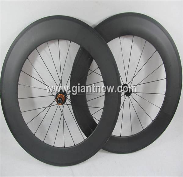 road bike wheels 700C88mm Clincher Carbon Wheel