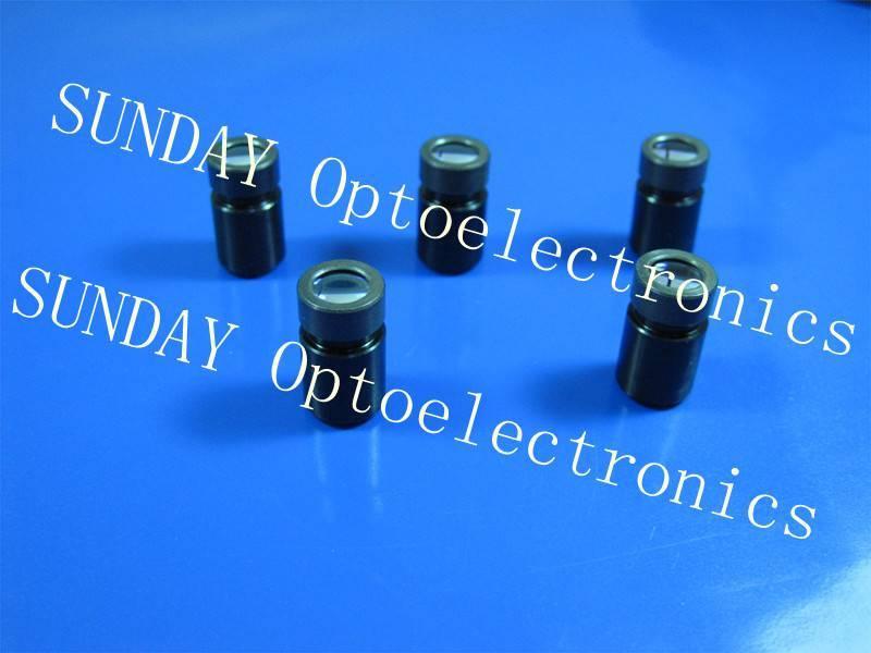Laser Collimator lens ,M9X0.5,3 glass lenses,AR coated