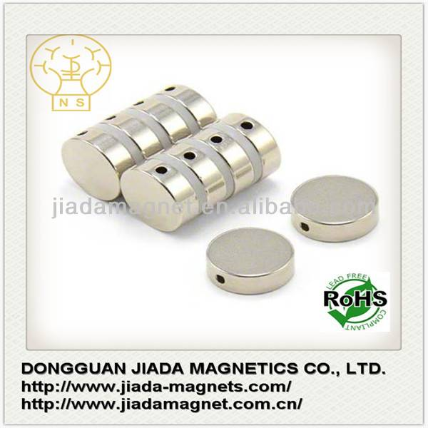 Strong Round Disc Magnets Toy Rare Earth Neodymium
