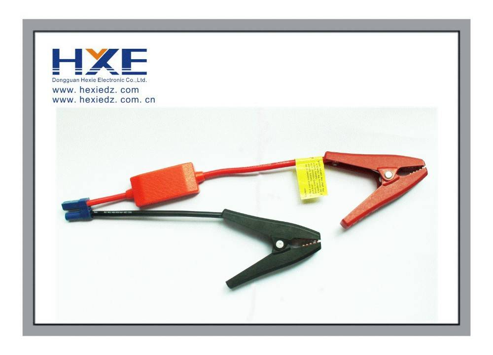 alligator clip to EC5 Connector use in Emergency car jump starter