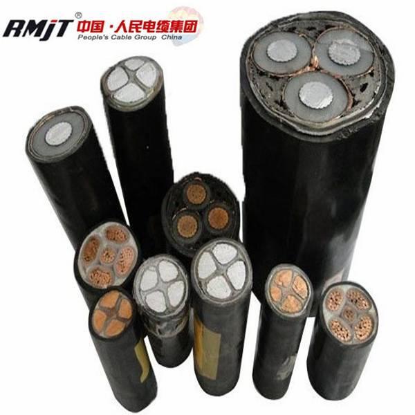 0.6/1KV PVC/XLPE insulated swa/sta armored copper cable