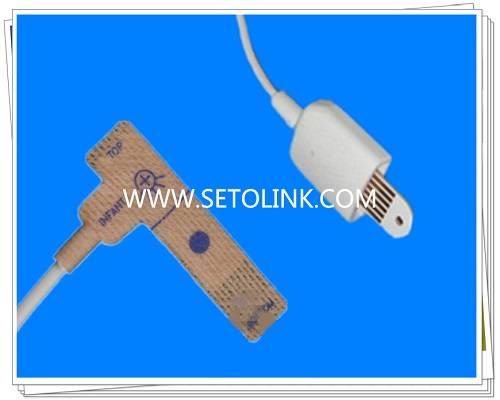 2015 Hot Sale OEM Available Masimo 6 Pin Disposable SpO2 Sensor