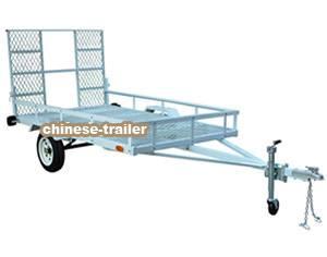 ATV trailer, DOT/Emark tyres and lights