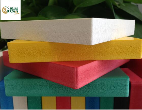 5-20mm Colored PVC Foam Board with Various Density
