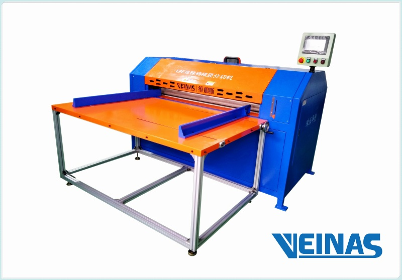 Veinas EPE/PE/Non-cross linked Polyethylene Foam Cutting Machine: multiple functions
