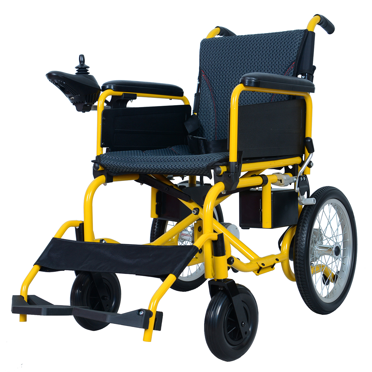 Yattll Cheap foldable electric wheelchair, power wheelchair with CE approved