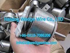 AISI316L dual velocity strainer nozzles