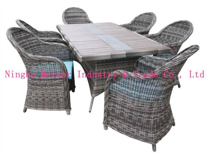 6 seater rattan garden furniture
