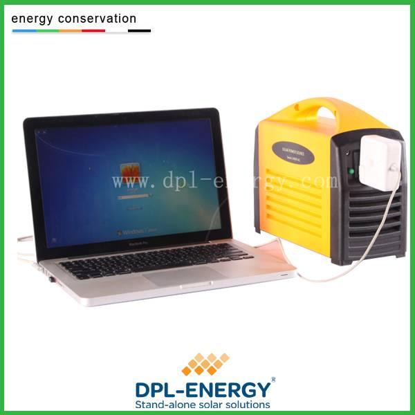 240W portable solar generator