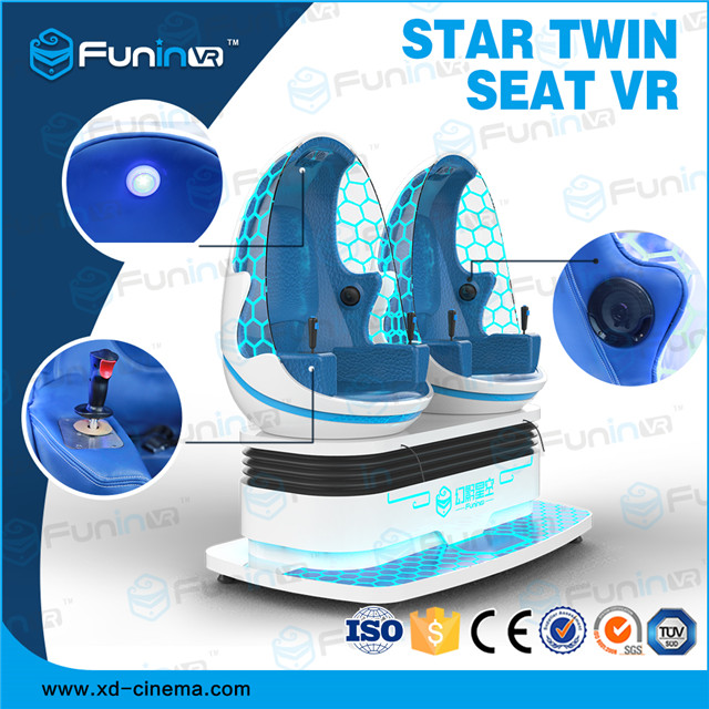 selling 2018 new product egg cinema Star Twin Sweat VR game machine for sale