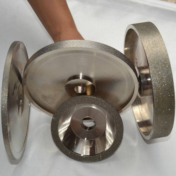 High Speed Stone Grinding Tools Electroplated Diamond Grinding Wheel