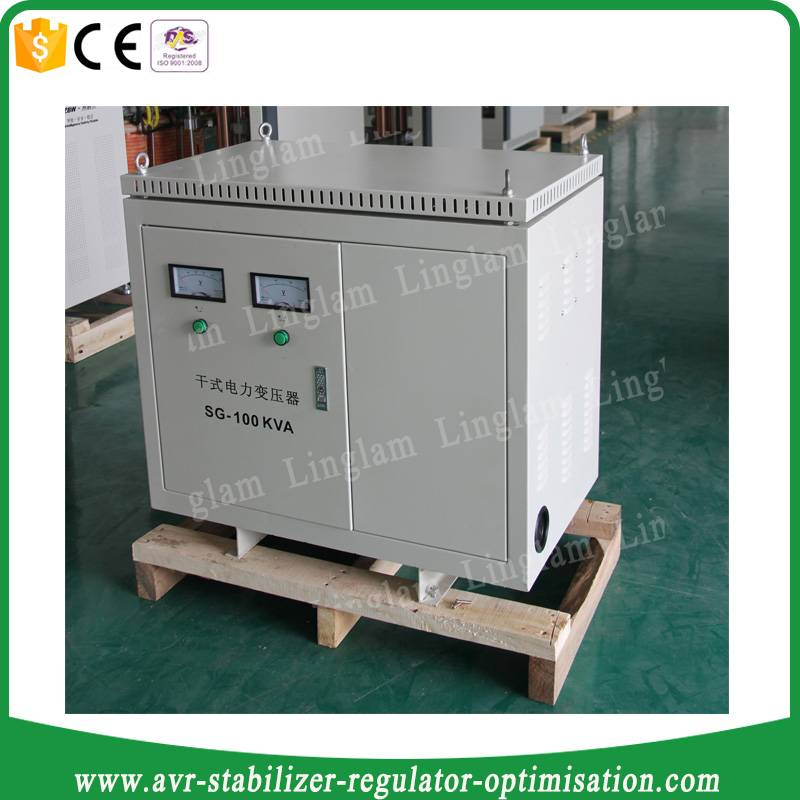 100kva 3 phase stepdown transformer 440v to 220v