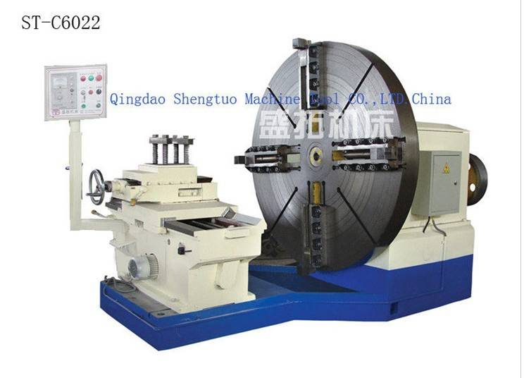 heavy duty facing lathe/ CNC lathe machine/ flange lathe machine/