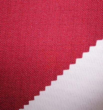 twill black yarn grid fabric+tpu