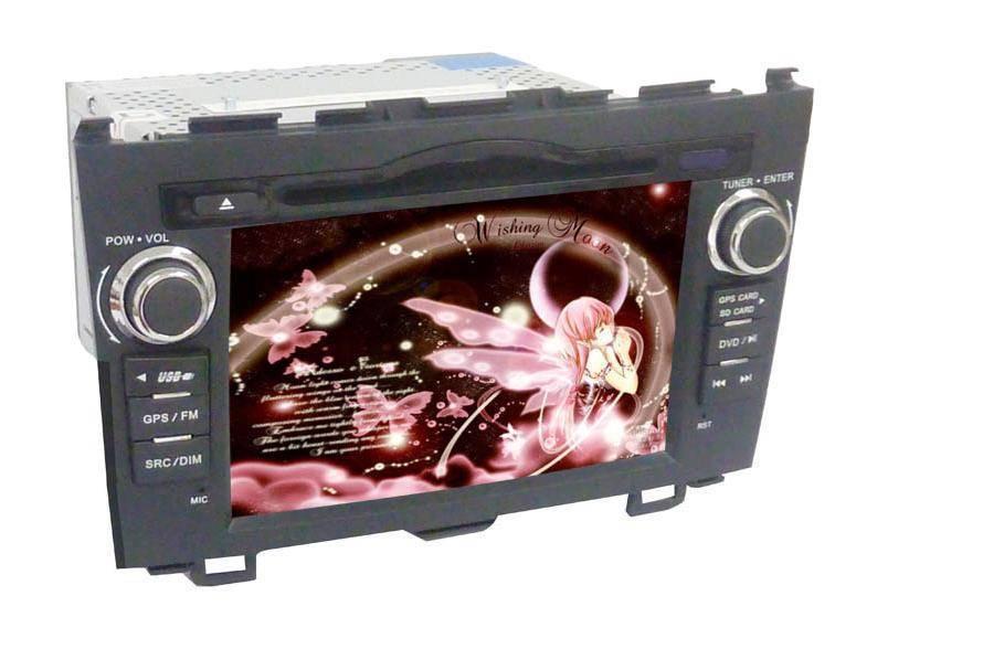 7 inch Car GPS DVD Player for Honda-CRV (Digital screen)