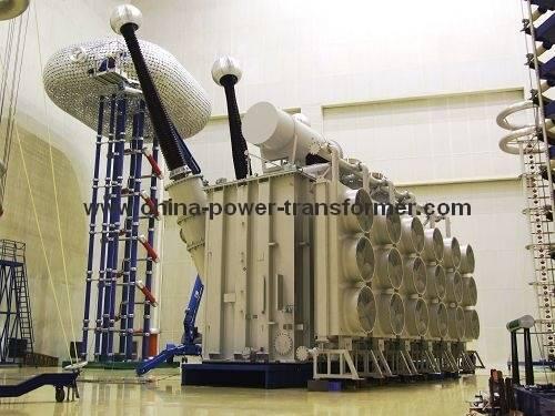 500kV Oil-immersed Three Phase Power Transformer