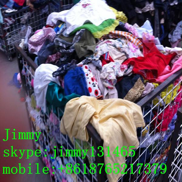 used clothes supplier in Guangzhou factory