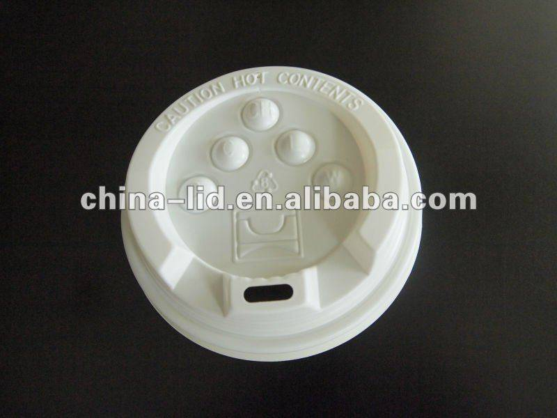 PS platic lid for paper cup