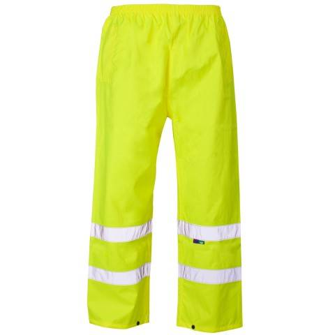 Hi vis work pant with 3M high quality reflective stripe