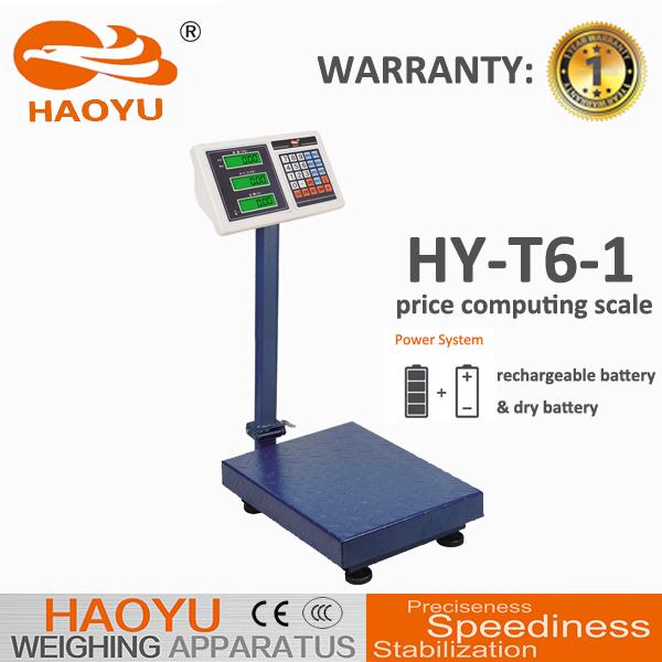 500KG 200G Electronic Platform Price Computing Scale