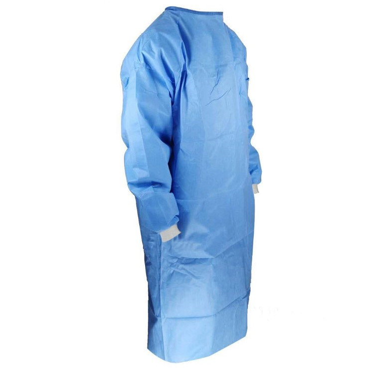 Good Quality Medical Surgical Gown Disposable Operating Coat