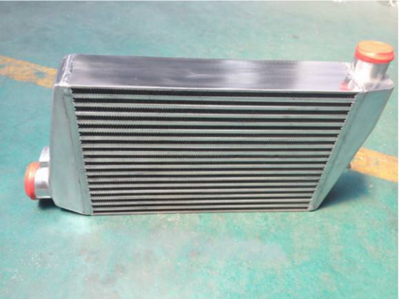Radiator Charge air cooler plate fin heat exchanger