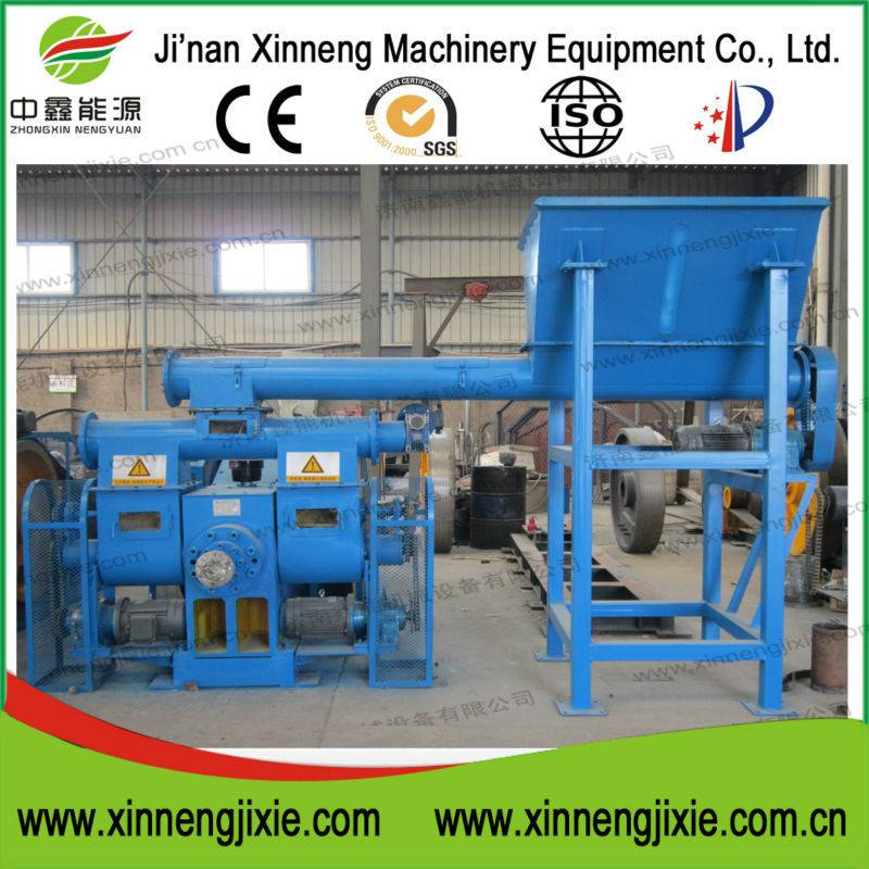 Biomass wood briquette machine made in Jinan Xinneng Machinery Equipment Co., Ltd.