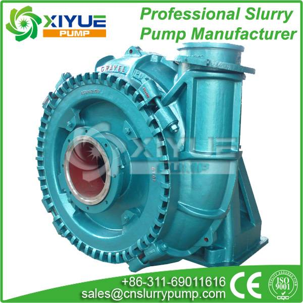 High chrome alloy sand and gravel dredge pump