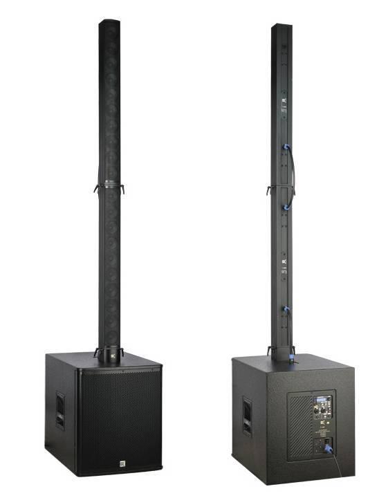 Blue tooth column line array system disco/ night club sound equipemnt