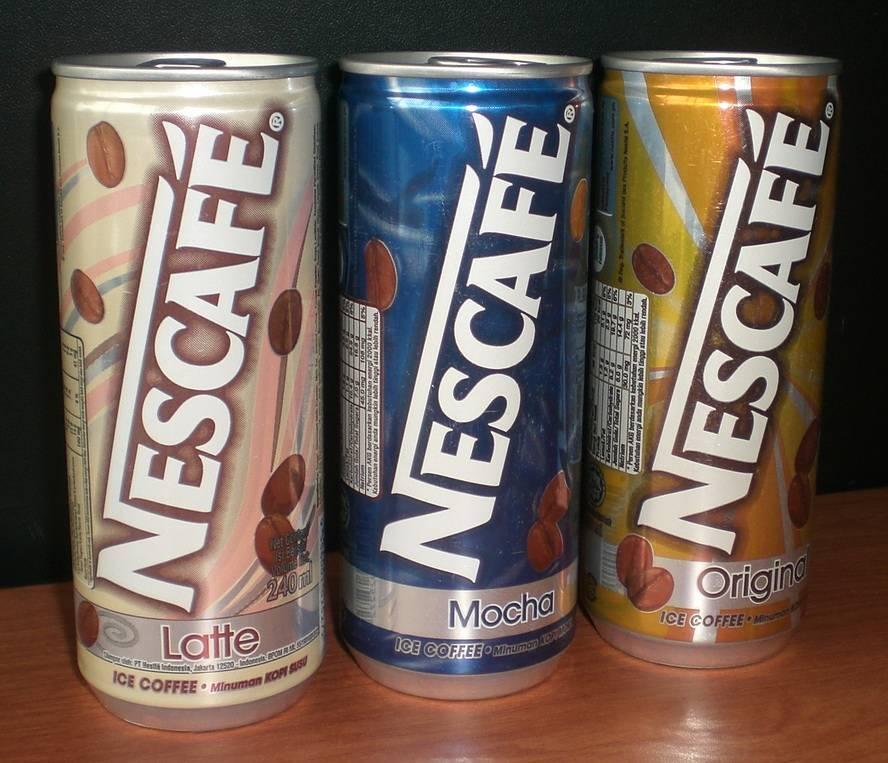 Malaysia NESCAFE RTD Iced Coffee