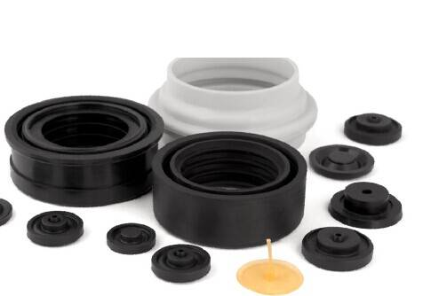 Rubber parts in the Sanitaryware
