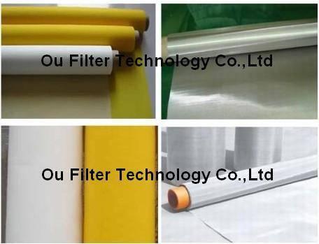 Polyester, polyamide, SS screen printing mesh