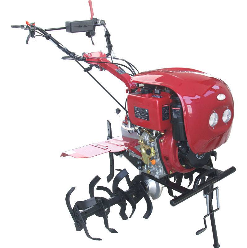 Gasoline Tiller with gear and 186F diesel engines with high quality