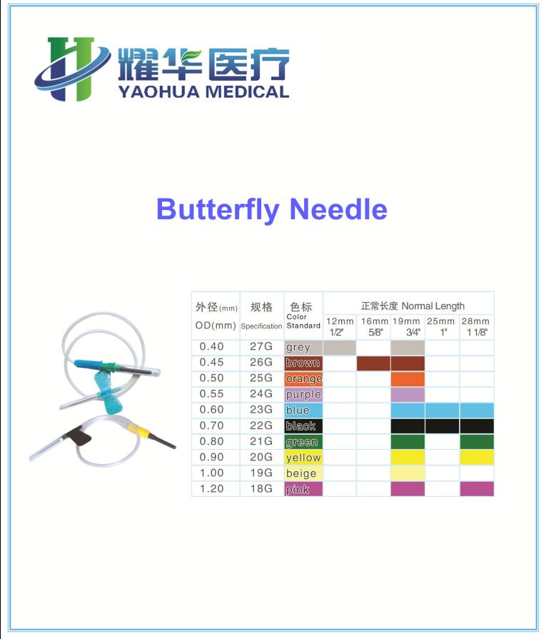 butterfly blood needle