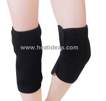Far infrared heated knee pad