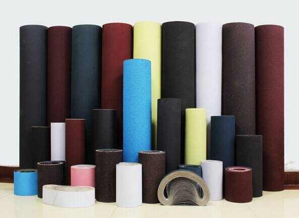 aluminum oxide Coated abrasive cloth jumbo roll