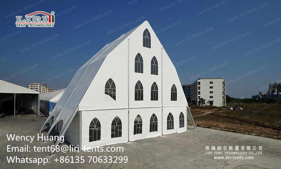 Liri New Church Tent with PVC Sidewalls