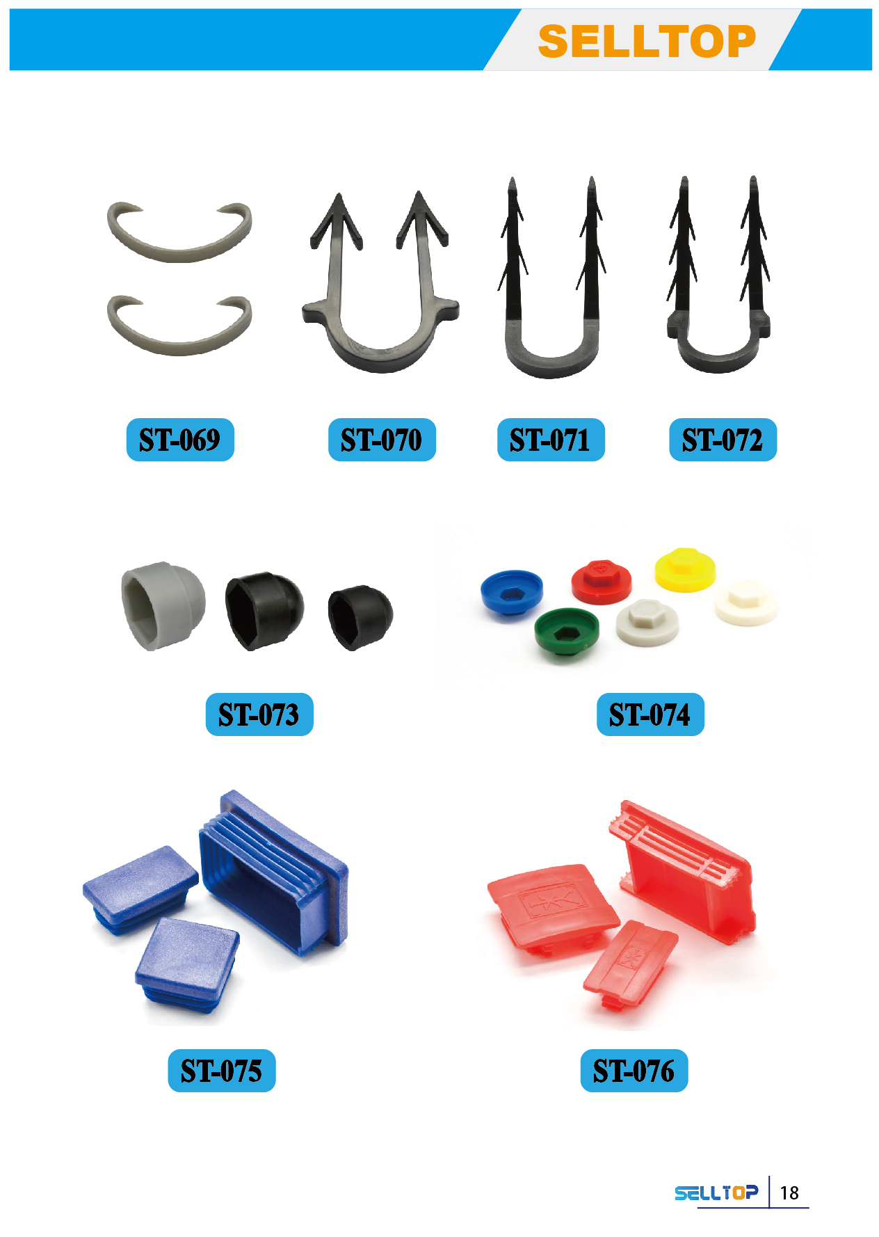 We offer Floor Barbed Clamp and Plastic Box