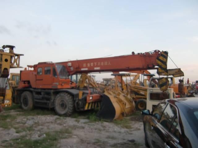 used KR25H-3 KATO truck crane
