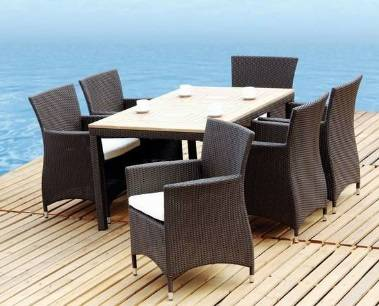rattan outdoor furniture/sofa sets/dining chair & table