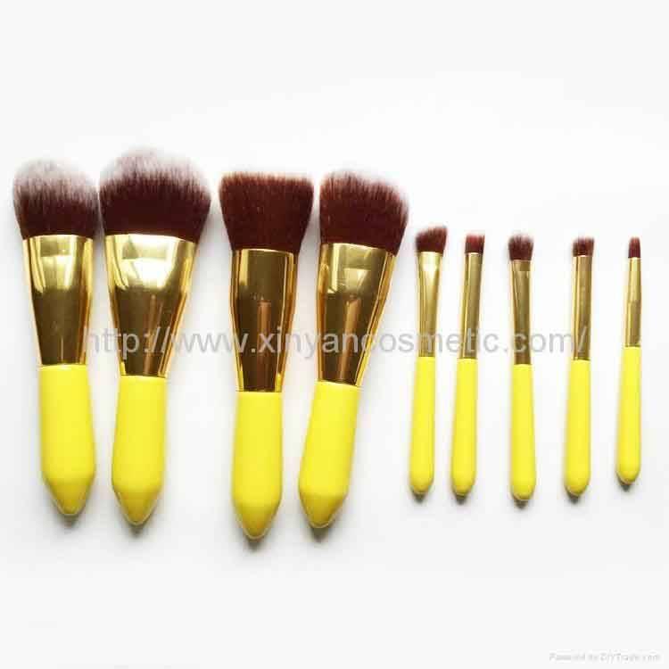 New Makeup Brush 8pieces Per Set Cosmetic Brush Tool With PU Bag Makeup Kit